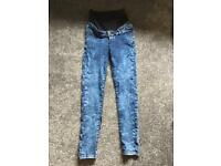Mothercare pregnancy jeans size 8 neverworn