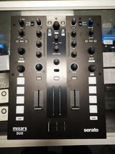 Mixars DUO 2-Channel Battle Mixer for Serato with Loop FX *Demo