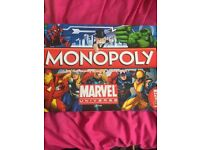 Marvel monopoly NEW