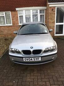 BMW E46 320D 2004 low mileage
