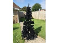 Christmas Tree artificial 6' Black