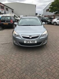 VAUXHALL ASTRA 2011 manual 5 door diesel 1.7 hpi clear!!