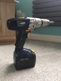 MacAllister Cordless 24V 1.5Ah Hammer Drill MHD24-2