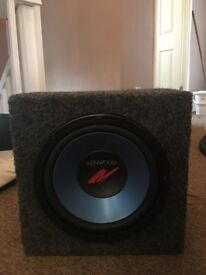 Kenwood subwoofer 8 inch £15 no offers