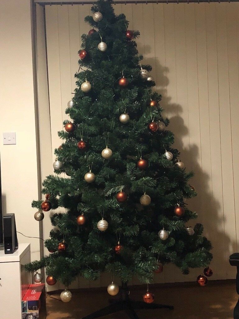 7ft christmas tree with lights slim 7ft christmas canadian tree with lights all boxed in chatham kent