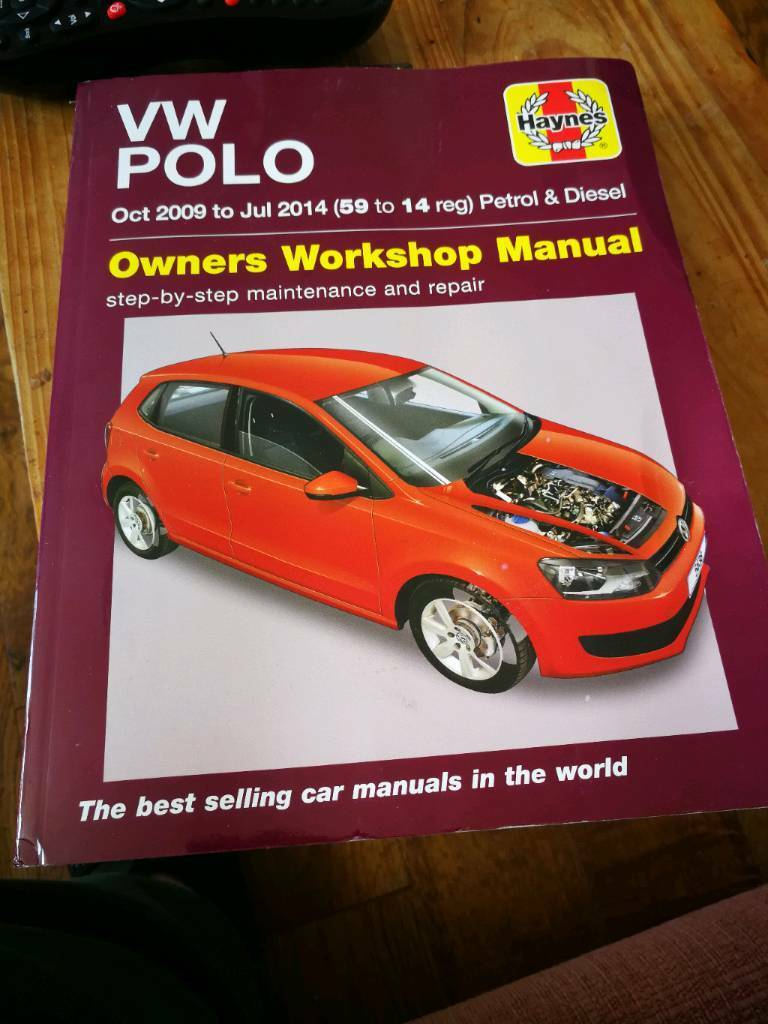 Vw polo haynes manual 09-14