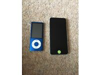 iPod Touch and IPod Nano for sale