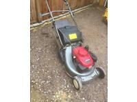 Honda hrd 536 rear roller lawnmower