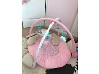 Baby girl mothercare play mat