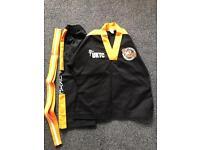 2 x UKTC Taekwondo tigers outfits