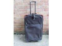 Black Pull Along Suitcase Good Used Condition