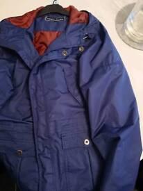 Target dry waterproof blue jacket XXL