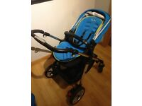 Silvercross Pioneer Pram/Buggy with reversible seat liner