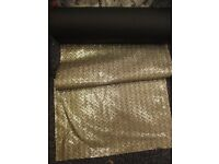 Stunning Glittery, Sequinned, Embroidered Fabric - Ideal wedding table runners - retails at £60pm