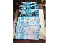 Campervan cotton tea towels