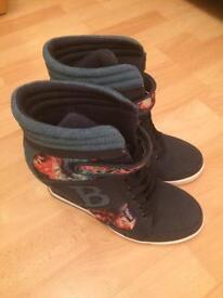 Babycham high rise boots