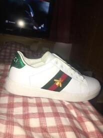 Gucci ace bee sneaker trainers