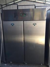Catering equipment double door fridge foster for restaurant takeaway cafe pizza shops ljgvv