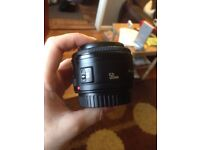 Broken Canon 50d lens - spares or repairs
