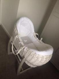 Brand new Mama & Papas Welcome To The World MosesBasket & Stand