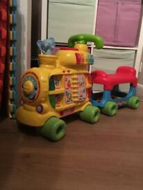 vtech Push & Ride Alphabet Train, Sit to Stand...BARGAIN !!