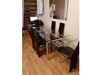 Dining Table and 6 Chairs £90 ono Collection Bursledon