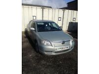 Toyota avensis spare or repair