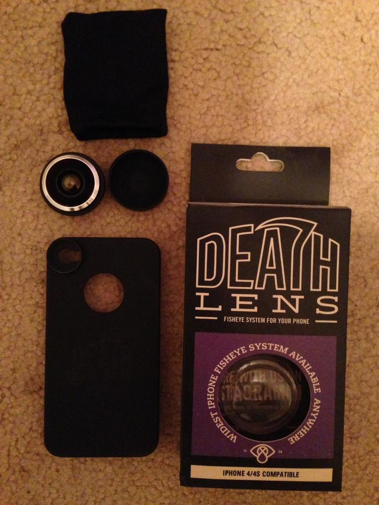 iPhone 4/4s lensin Port Seton, East LothianGumtree - Death Lens for IPhone 4/4sOriginal box, phone cover and lensVery good condition