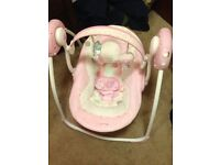 Girl's Baby Swing. Great condition!