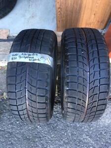 215/50/17  *2 pneus Hiver Bridgestone Blizzak