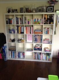 Kallax Ikea cube shelving 5 cubes by 5 cubes - good condition
