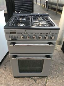 ZENITH 55CM ALL GAS COOKER IN SILIVER
