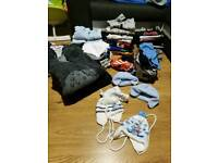 Baby boy bundle 0-3 and 3-6 over 60 items