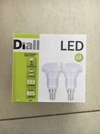 E14 light bulbs. 6 boxes =12 bulbs