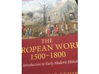 The European World 1500-1800 Paperback – Black & White, 23 Dec 2013 by Beat Kümin