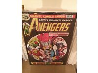 The Avengers #146 - Boxed Canvas Edition – 2013 Signed by Stan Lee