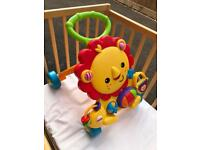 Fisher Price Musical Lion Walker - excellent condition