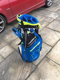 Brand New Sun Mountain Three 5 golf stand bag
