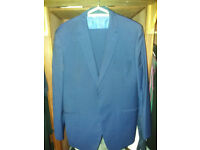 TED BAKER NAVY ELEVATED SUIT WORN ONCE - GOING CHEAP