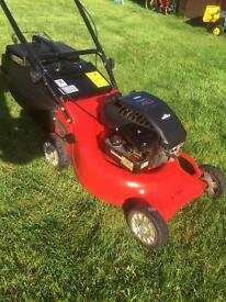 Rover lawnmower alloy deck Briggs & Stratton engine serviced mower is VGC
