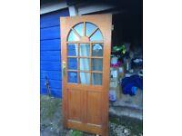 Used Wooden external door