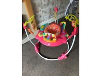 Fisher price petals jumperoo excellent condition!