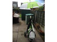 Motora M1 Sprint Electric Golf Trolley & Matching Cart Bag