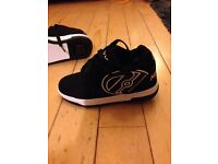 Heelys, size 1, never worn, too small, as new