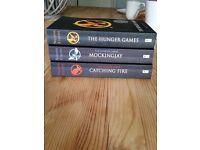Hunger games book set.