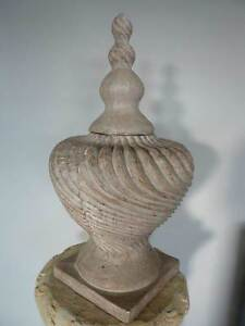 Cream french provincial plaster-like vessel urn Singleton Heights Singleton Area Preview