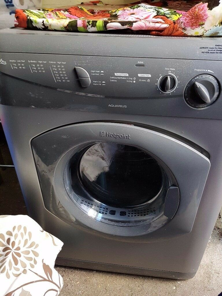 Hotpoint Dryer! AS GOOD AS NEW