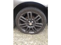 "18"" mg Alloys with good tyres"