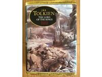 LORD OF THE RINGS BOOK WITH ILLUSTRATIONS