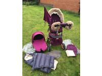 Stokke xplory v3 full set in purple